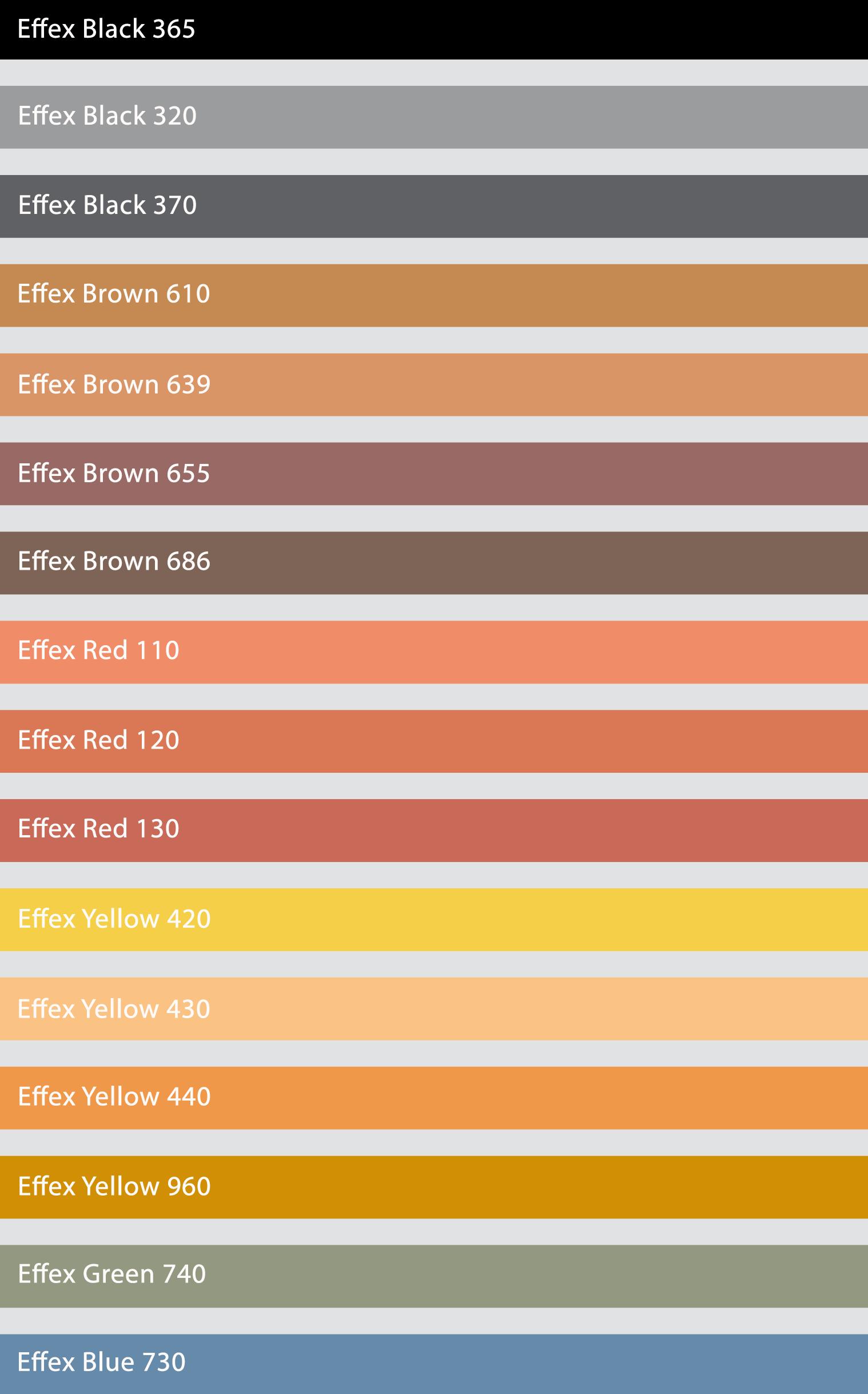Pigmenty effex chemtech bayern